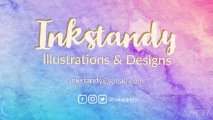Inkstandy Business Card by Inkstandy