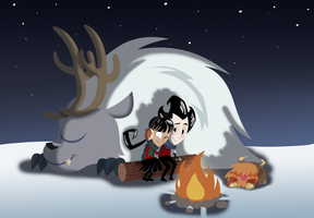 dont starve how to change the temperature