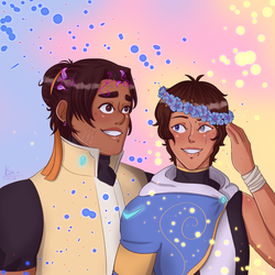 a little older [ hunk/lance ] by oh-no-Castiel