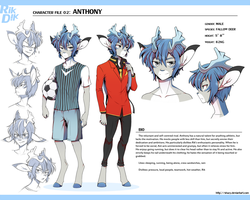 RIKDIK Character File 02: Anthony by shazy
