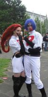 Team Rocket Cosplay by seely-san