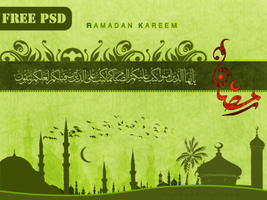 Ramadan Free PSD Layers by alsenaffy