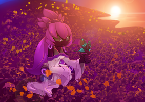 Com: Flowerfield by KimsSpace