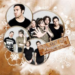 Pack PNG 45: Fall Out Boy by SwearPhotopacksHQ