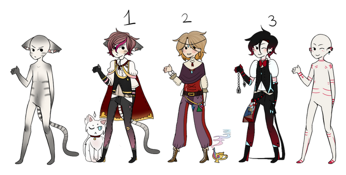 OPEN Male adopts [2/3] by MaruEnd