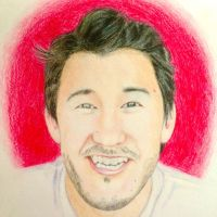Markiplier Without Glasses by JamesEli97