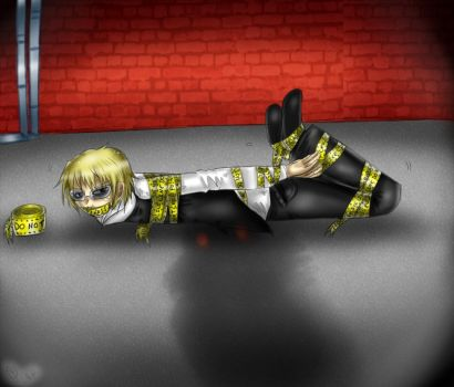 Shizuo in a Bind by Mr-Question-Mark