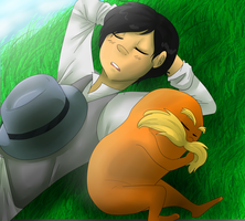 Nap with the Lorax by XxUkarixX