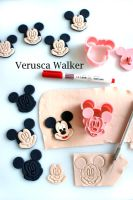 Mouse Cookie Cutters by Verusca