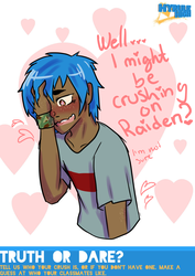 This boy is shy by Nepeta132