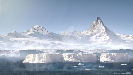 Good Day Matte Painting by Androgs