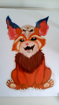 Gnar oilpainting by BoogieSnail