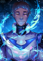 The Blue Paladin [VLD] by leboredinlife