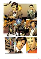 Dr. Who 1 pg1 by CharlieKirchoff