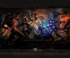 Diablo Dungeon Go Launcher Wallpaper 4 by Jekmyster