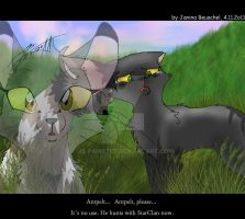 Grieving for Antpelt by JB-Pawstep