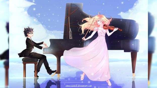 I just wanna be part of your symphony! by ShineCzanek