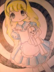 Alice in Wonderland by kawaiismaksmak