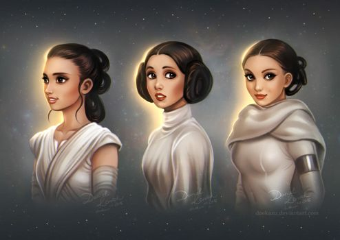 Star Wars: Generations by daekazu