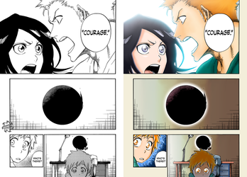 Ichigo and Rukia [FINAL Bleach Chapter] by iZN1337