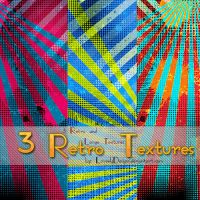 3 Retro Textures by loveelydesigns