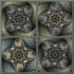 Square Minibrot Variations by FractalEyes