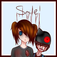 Oliver and macy -Smile! by ScaringSaige