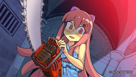 Lily and Chainsaw by Sen-jou