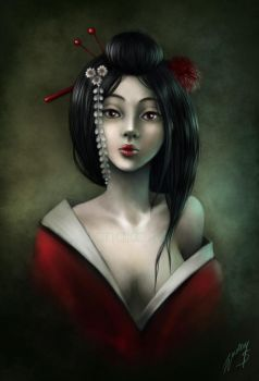 geisha by Anako-ART