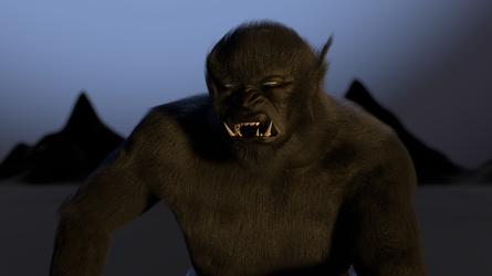 The Black Ogre of Genetrix 3 Close-Up by paulrich
