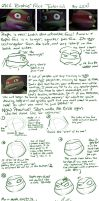 TMNT Tutorial: Raph's face by Fulcrumisthebomb