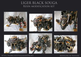 Liger Black Souga by machine-messiah
