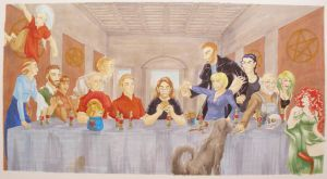 100610 The Last Supper by GillyPerkyGoth