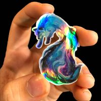 Galaxy Fox Sticker by Lucky978