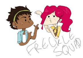 FRECKLE SQUAD by ucccoffee