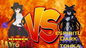 lady taker vs tokha yatogami (lady taker win) by LadyTakerFandub