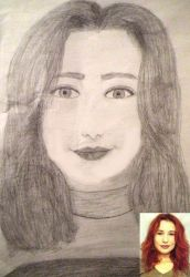 Tori Amos Drawing by liminalstate