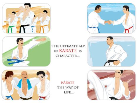 karate the art of life by kakato-otoshi