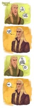 LOTR - Adolescence crisis by the-evil-legacy