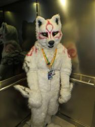 I met Amaterasu in the lift. by Skunk-Mantra