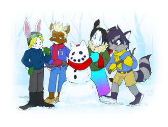 Do You Want to Build a Snowman? by FoxyFriendBacklash