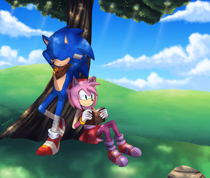 Chillin by SonicWind-01
