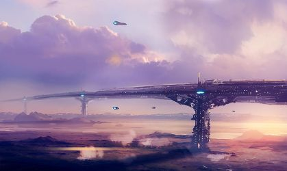 Planet Bridge by dustycrosley