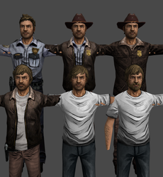Rick Grimes mod - The Walking Dead (XPS) by AKandrov