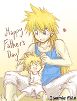 Happy Father's Day! by Cammie-Mile