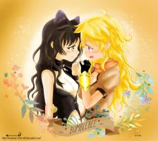 RWBY :- Bumblebee Pinky Promise by TSubame-Arba-Del