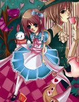 Alice in Wonderland by orenji-no-ame