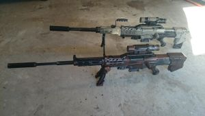 My sniper rifles by AlTheGeek