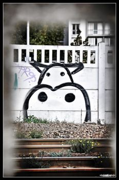 Urban Cow by Yannh76