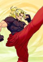 Street Fighter V: KEN by Jiggeh